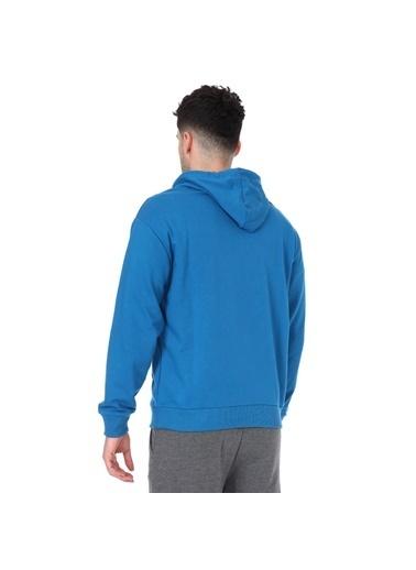 Sportive Swemankap Erkek Yeşil Günlük Stil Sweatshirt 711341-Ptr Yeşil